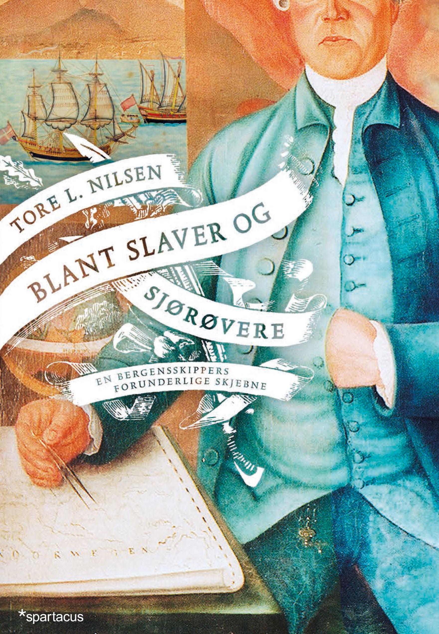 Blant slaver og sjørøvere - omslag