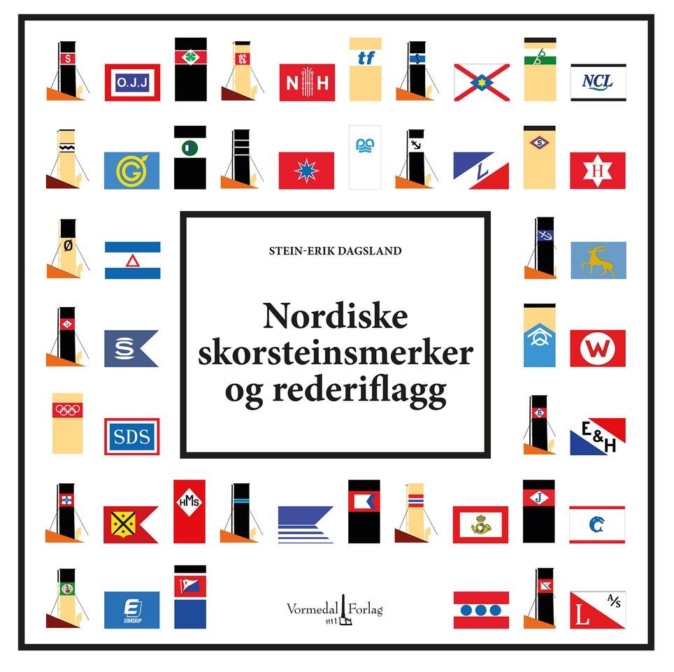 """""""Nordiske skorsteinsmerker og rederiflagg"""""""